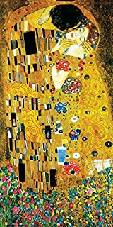 Culturenik Gustav Klimt The Kiss Lovers Le Baiser Romance Decorative Fine Symbolist Art Poster Print, Rolled 12 by 24