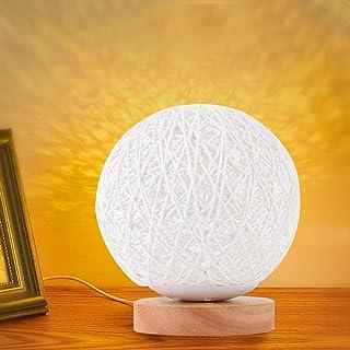 Home Decor, Night Light, Projection Lamp, for Dining Room Living Room Study Restaurant(White)