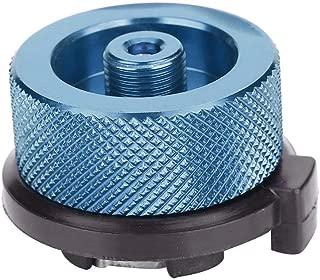 Huenco Outdoor Campingkocher Refill Adapter Flachgas Adapter Ventil Kanister Gas Konverter Shifter Zylinder Refill Adapter
