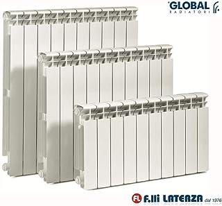 Radiador Global Vox int. 600 blanco de 06 elementos termosifones aluminio