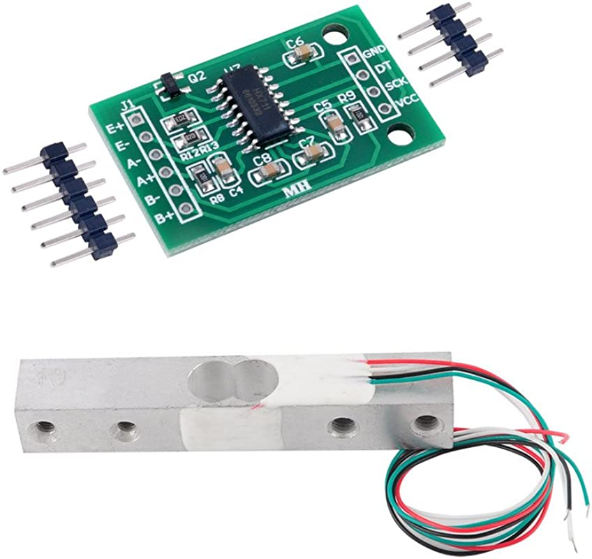 20kg Load Cell Weight Sensor Electronic Kitchen Scale HX711 AD Weighing Module Geekstory