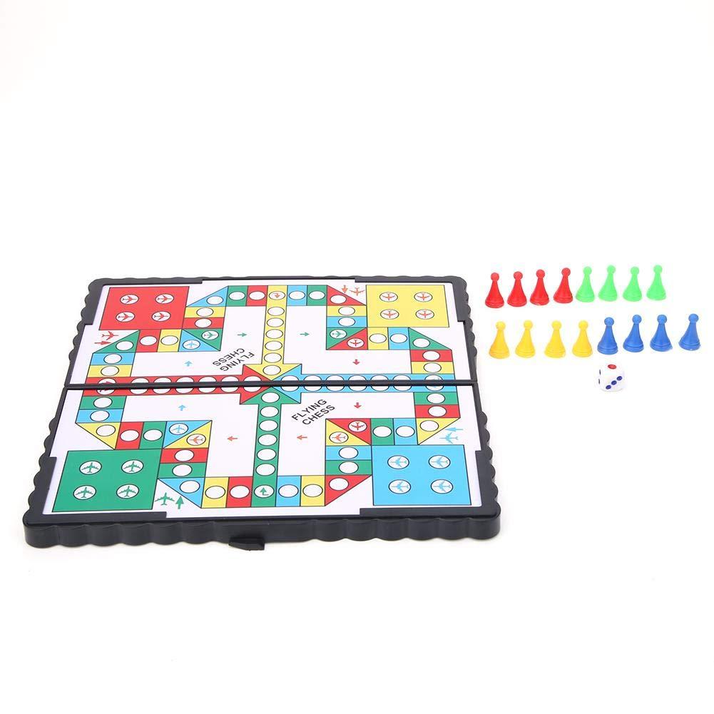 Zerodis Fun Monopoly Classic Game, Magnetic Kids Flying Chess Board Game Juego Educativo Juego de interacción Entre Padres e Hijos Favor de Regalo para niños niñas: Amazon.es: Juguetes y juegos
