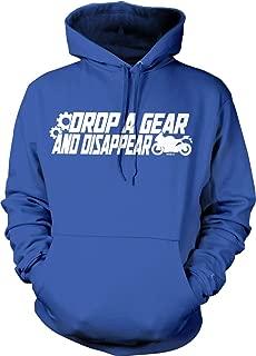 Hoodteez Drop a Gear and Disappear Hooded Sweatshirt