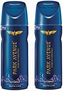 Park Avenue Freshness Deodorant -Storm 130ml(Pack of 2)