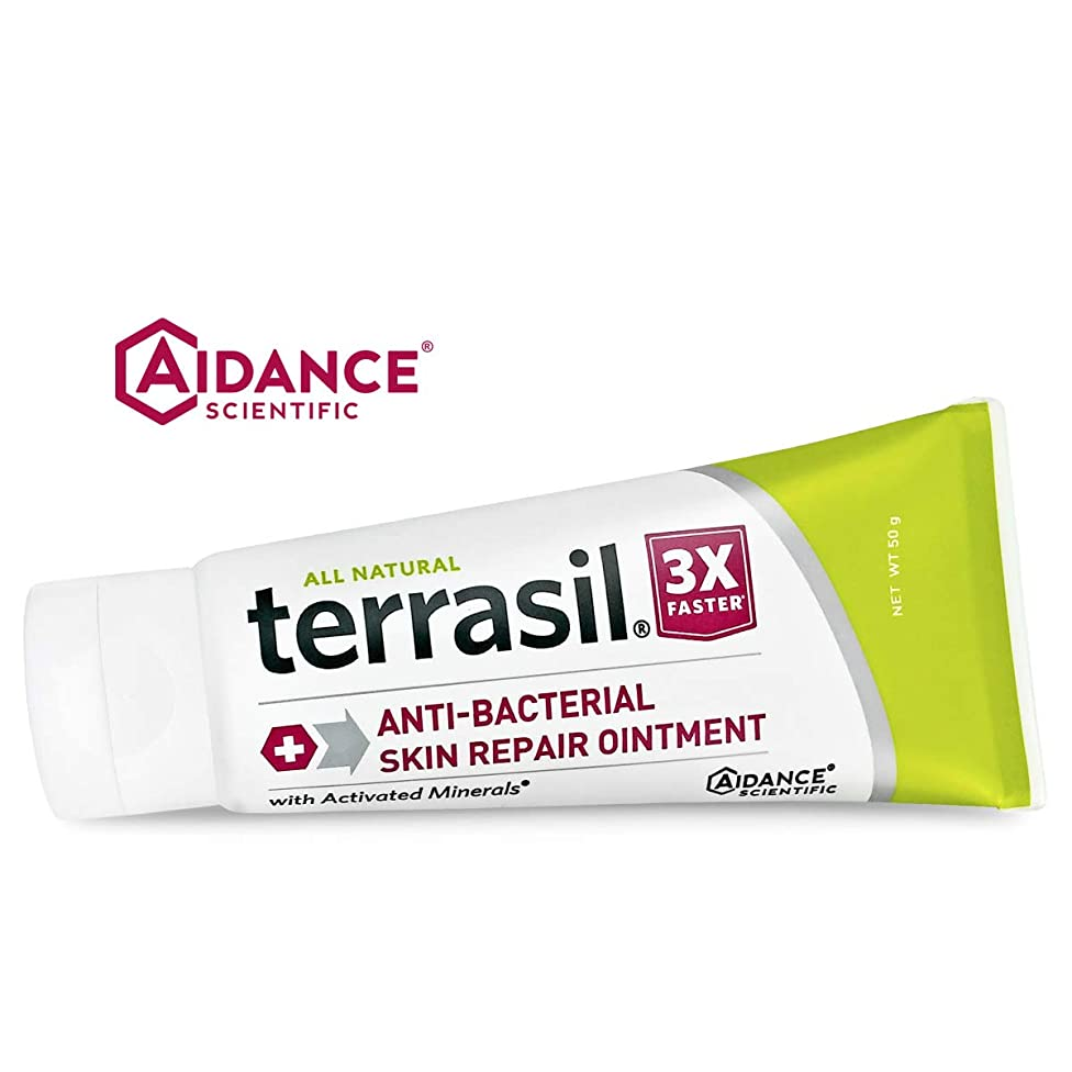 Antibacterial Skin Repair 3X Faster Dr. Recommended 100% Guaranteed All Natural Ointment Fissures Folliculitis Angular Cheilitis Impetigo Chilblains Lichen Sclerosus Boils Cellulitis by Terrasil?