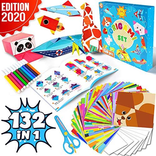 Dinonano Origami Paper Craft Kit...