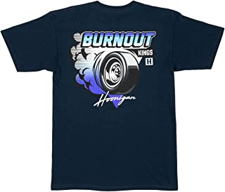 Burnout Kings II T-Shirt - Best Cool Graphic Tee for Mechanics, Gear-Heads, Car Truck Motorcycle Enthusiasts, Drifting, Race-Car Sports Fans Gift for Him