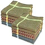 Ohne Marke Stofftaschentücher 12 Stück ca.40x40cm reine Baumwolle Herrentaschentücher (Jack)