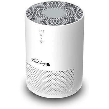 Weixinbuy Purificador de Aire, purificador de Aire de 360 ° con Filtro HEPA y carbón Activado, Efectos de filtración 99.97% Mascotas, Fumadores, alérgico, formaldehído, Escritorio, hogar, Oficina: Amazon.es: Hogar