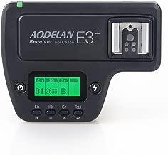 AODELAN E3+ Flash Speedlite Receiver Flash Trigger for Canon 600EX-RT, 600EX II-RT, 430EXIII-RT, ST-E3-RT