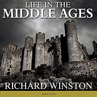 Life in the Middle Ages audiobook cover art