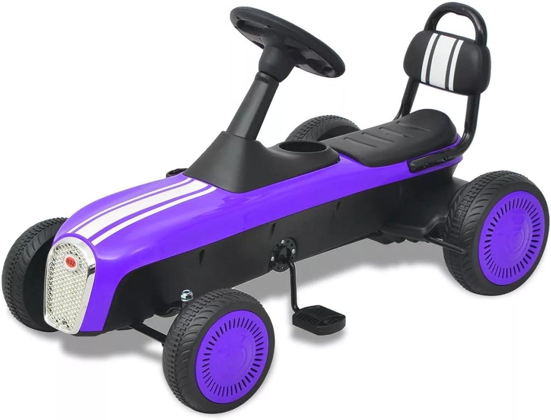 Vuelta de 10 dias Furniturojoeals correpasillos bebes bebes bebes Kart con pedales morado motos correpasillos  autentico en linea