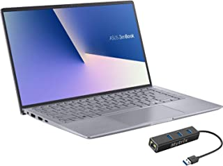 "ASUS ZenBook 14"" IPS FHD Laptop, AMD Ryzen 4500U 6-Core up to 4.0 GHz, NVIDIA GeForce MX350 Graphics, 8GB RAM, 512GB SSD, ..."