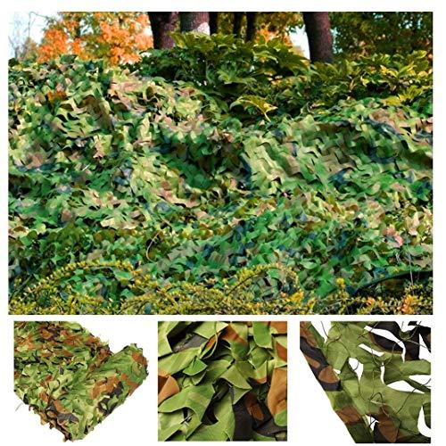 Tarnnetz Tarnnetz 3x3m 3x4m Grün Tarnnetz Bundeswehr Army Sunscreen Mesh Shade Netting for Garten Terrasse Balkon Pergola Pavillon Sonnenschirm Dekoration Jagd Blind Shooting Camping Fotografie Markis