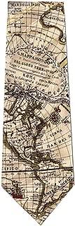 World Globe Map Silk Tie