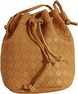 Timetries Women's Faux Leather Crossbody Bag Cusual Multi-Pockets Waterproof Messenger Bag, Yellow