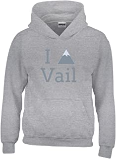 I Heart/Love Vail, Colorado Youth Hoodie - Kid's Sweatshirt