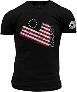Grunt Style America Hell Yeah - We The People Men's T-Shirt