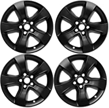 OxGord 17 inch Hubcap Wheel Skins for 2008-2014 Dodge Charger-(Set of 4) Wheel Covers- Car Accessories for 17inch Chrome Wheels- Auto Tire Replacement Exterior Cap Cover