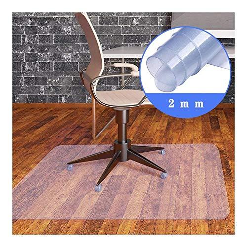 NINGWXQ Mat Bureaustoel Mat for Tapijten, Beschermende Mat Harde Vloer Kantoor & Thuis | Vele Maten Beschikbaar, Aanpasbaar (Color : Clear, Size : 200x300cm)