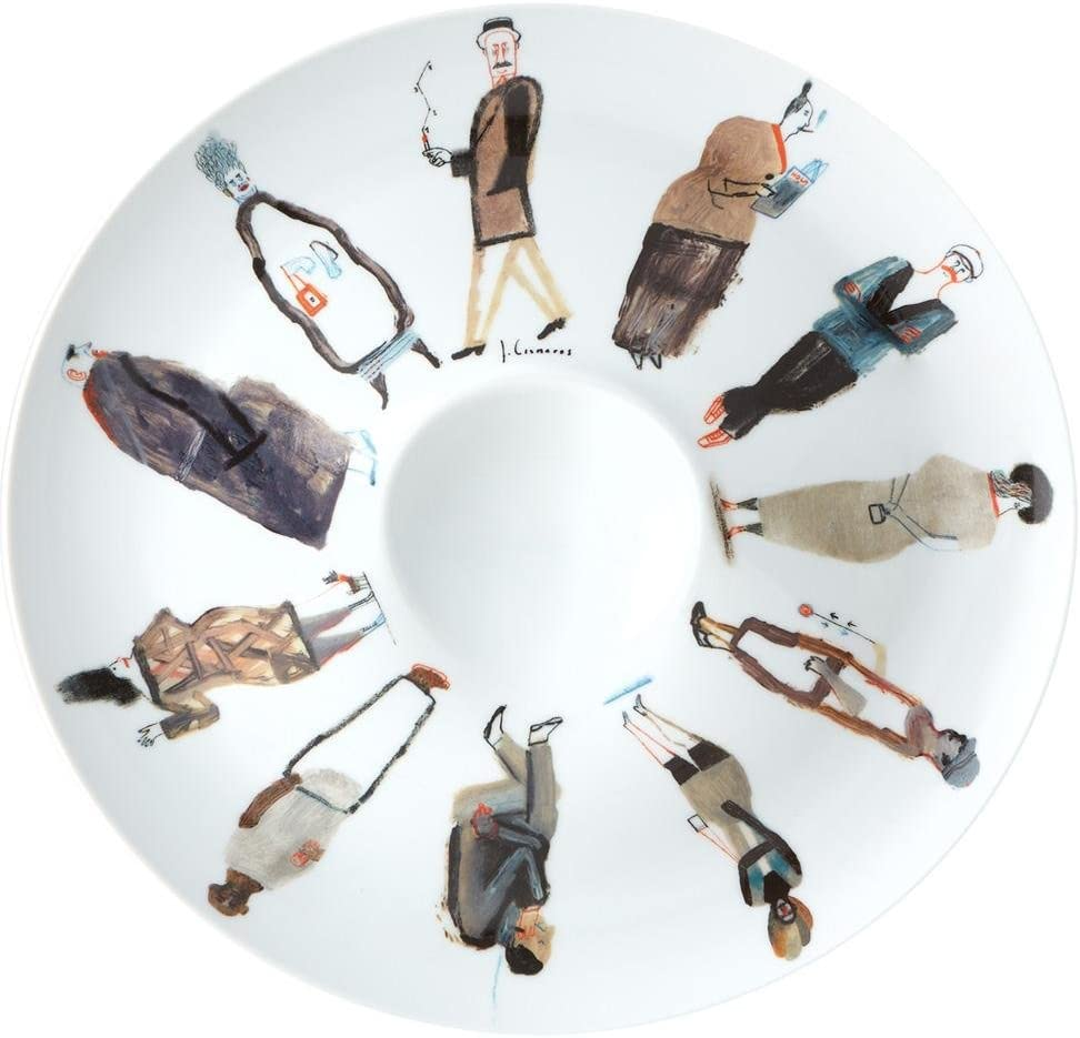 Vista Alegre Porcelain Many popular brands unisex Decorative Wall Hanging Plate Round Jesús