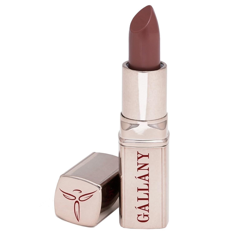 Gallany Cosmetics セミマットリップスティック、女の子について町ウォームブラウン 名士