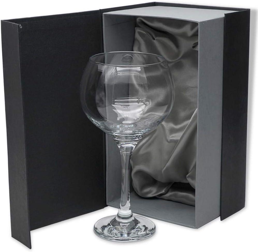 Tallada a Mano Colecci/ón COMBY. Set de 1 Copa de Cristal para Gin/&Tonic