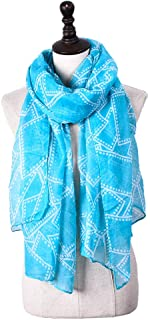 Scarf for Women Lightweight Fashion Fall Winter Shawl Blanket Scarf Scarves (Color : Light blue, Size : Onesize)