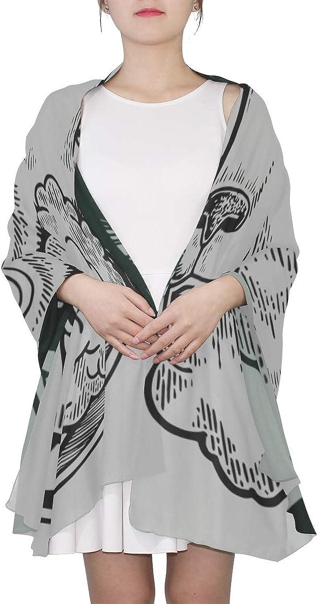 Fashion Scarf For Women Kawaii Sheep Free Lisen Music Mens Scarf Lightweight Large Shawl Wrap Lightweight Print Scarves Funny Scarf Cheap Scarf
