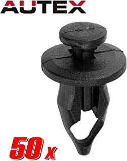 PartsSquare 50x Car Clips Nylon Front and Rear Bumper Push Type Retainer Fender Grill Radiator Clips Fender Liner Fasteners Rivet Retainer Clamps Replacement for Buick/Saturn SL