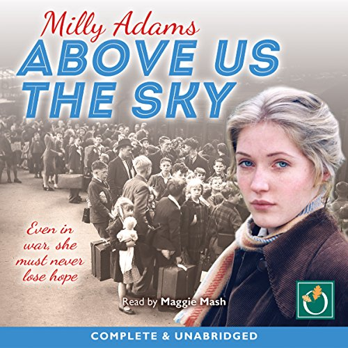 Above Us the Sky audiobook cover art