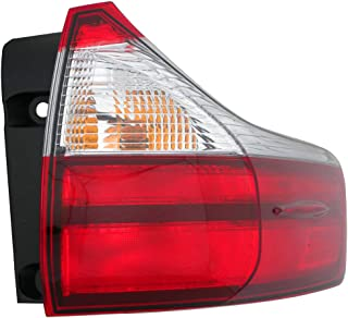 Tail Light Assembly For Toyota Sienna Base/L/Le/Xle/Limited Model Passenger Right Side 2015 2016 2017 Taillamp TO2805123