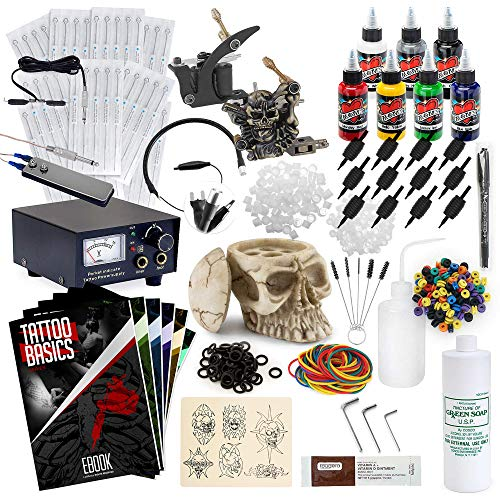 Rehab Ink Complete Tattoo Kit- Best Tattoo Gun Kit for Beginners