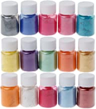 cuckoo-X Pigmentos En Polvo Slime Cera Jabones Natural Mica Tintes para Te/ñir Resina Epoxi Vela Pintura Cosm/ético Y Arte De Bricolaje Charming U/ñas