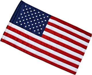 Best 2.5x4 Ft American Flag (Pole Sleeve Flag) | 100% Made in USA | 2.5