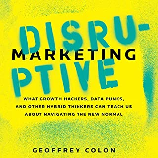 Disruptive Marketing audiobook cover art