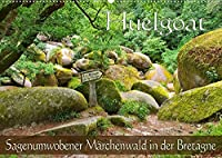 Huelgoat - Sagenumwobener Maerchenwald in der Bretagne (Wandkalender 2022 DIN A2 quer): Mystischer Ort in der inneren Bretagne (Monatskalender, 14 Seiten )