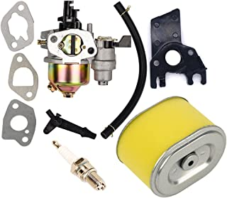 HIFROM Replace Carburetor with Air Filter Spark Plug for Honda Gx140 Gx160 Gx200 5.5hp 6.5hp Engine Generator Lawn Mower Motor