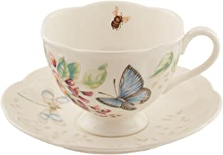 Lenox Butterfly Meadow Blue Butterfly Cup and Saucer Set - 812098