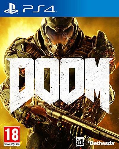 Bethesda Doom, PS4 vídeo - Juego (PS4, PlayStation 4, FPS (Disparos en primera persona), Modo multijugador, M (Maduro))