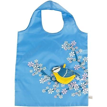 Sass /& Belle Hedgehog Reusable Foldable Shopping Bag Fold Away Animal Handbag