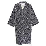 Camisón Kimono Vestido de Hombre Mujer Ropa de Dormir Manga de Dormir Mediana Algodón Cómodo Pijamas Albornoz para el hogar Salón de Dormir SPA Sauna