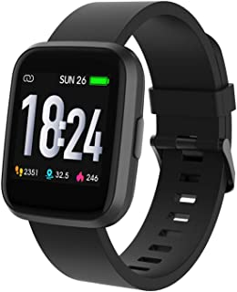 Crossbeats Ignite Metal Smart Watch 1.4'' Full Touch Men Women Fitness Tracker Blood Pressure Blood Oxygen Heart Rate Moni...