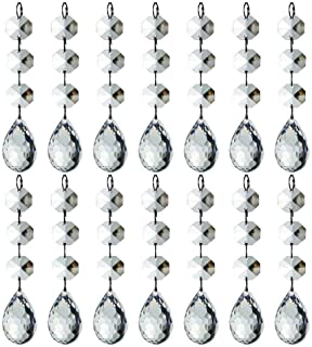 Best HOHIYA Acrylic Crystal Christmas Ornament Drop Ball Tree Decorations(Clear,Pack of 30) Review