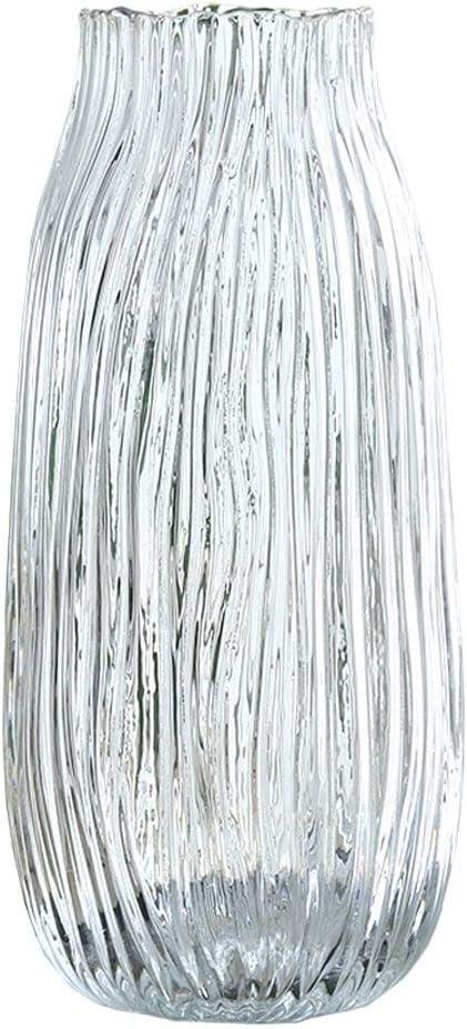 Cheap mail order shopping xuejuanshop Vases Smoke Gray Transparent Living Glass Home Vase gift