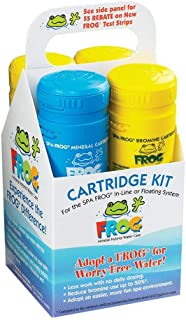 King Technology / Spa Frog Cartridge Kit - (Bundled with Pearsons Scumball Absorber)