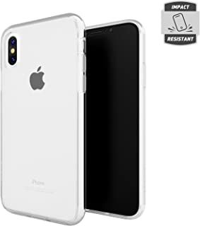 Skech Crystal Dual Layer Protective Shockproof Transparent Case for Apple iPhone Xs/X - Clear