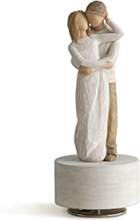 Willow Tree Together Musical, sculpted hand-painted musical figure
