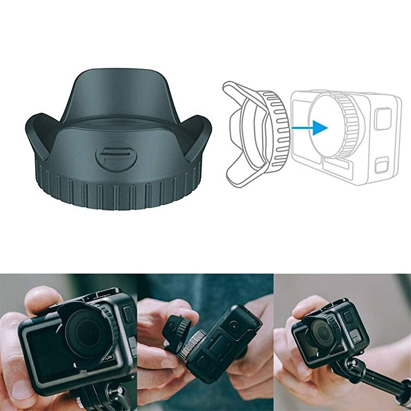 Sodoop Lens Hood Cap Sunshade Protector Cover for DJI OSMO Action Camera Accessories