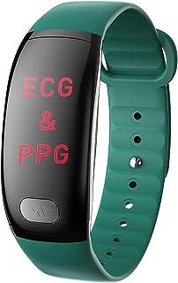 DHTOMC Reloj inteligente Fitness Tracker Reloj Smartwatches con presión arterial Monitor de sueño Ip67 Pulsera impermeable...